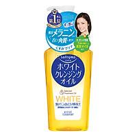 Dầu Tẩy Trang Làm Sạch Tế Bào Chết Kosé Cosmeport Softymo White Cleansing Oil (230ml)