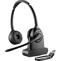Tai nghe Bluetooth Plantronics W420  kết nối với máy tính qua cổng USB - hàng chính hãng