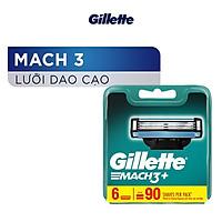 Lưỡi dao cạo Gillette Mach3 x6 lưỡi