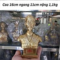 Tượng bác Hồ bằng đồng MS450