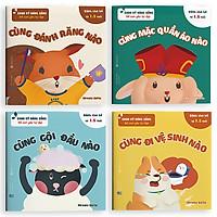 Sách ehon dạy kỹ năng sống cho trẻ từ 1 tuổi