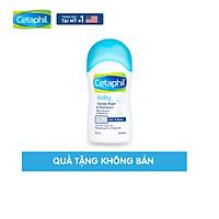 [Quà tặng không bán] Sữa tắm gội dịu nhẹ cho bé Cetaphil Baby Gentle Wash & Shampoo 50ml