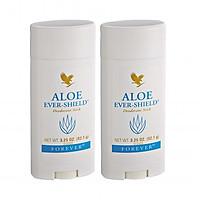 Combo 2 Sáp khử mùi không chứa muối nhôm Aloe Ever – Shield (#067) 92.1gr/tuýp