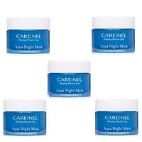 Combo 5 hũ Mặt Nạ Ngủ Mặt Carenel Aqua Night 15ml