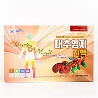 Hộp 30 túi Nước Linh Chi Táo Đỏ Daedong Korea (80ml x 15) - Jujube Linhzhi Premium liquid