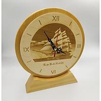 Đồng hồ để bàn khắc laser 01