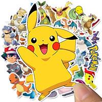 Sticker Pokemon set 30 ảnh có ép lụa