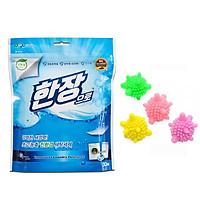Giấy giặt quần áo Hàn Quốc Han Jang  công nghệ nano giặt xả 2 trong 1 - Tặng 3 bóng Cầu Gai Giặt Đồ Thông Minh