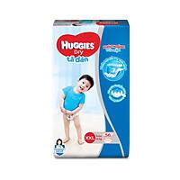 Tã dán Huggies Super Jumbo M76 - L68 - XL62 - XXL56 [Tặng khăn ướt 64 tờ]