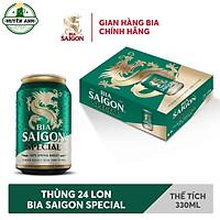 Bia Sài Gòn Special Lon 330ml - Thùng 24 Lon