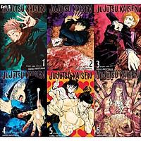 ( 6 tấm ) Poster JUJUTSU KAISEN CHÚ THUẬT HỒI CHIẾN tranh treo A4 album ảnh in hình anime chibi đẹp treo tường trang trí
