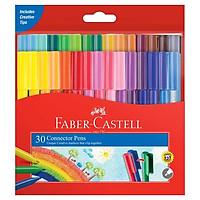 Bút Lông Màu Faber-Castell Connector 30 Màu 11-300-A