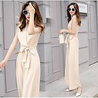 bộ jumpsuit nữ/ đần/váy sang chảnh hot mùa hè 2021 mầu trắng