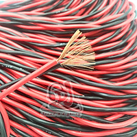 Dây loa đồng xoắn đỏ đen 2x1.0mm dài 1 mét, dây mạch phân tần loa, bass loa, loa treble