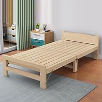 Giường ngủ sinh viên, giường gỗ thông gấp gọn kích thước nhỏ phù hợp phòng có không gian hẹp
