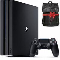 Máy Playstation PS4 PRO 1TB CUH-7218B + Quà tặng Balo PS4 - Hàng chính hãng