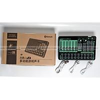 Soundcard H9 Bluetooth 2021 - Phiên bản mới chuyên thu âm, livestream chuyên nghiệp - Soundcard MKAI H9 (K9) - Hàng nhập khẩu