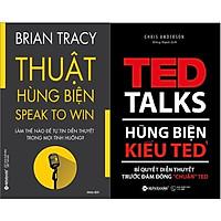 """Combo Hùng Biện Kiểu Ted 1 - Bí Quyết Diễn Thuyết Trước Đám Đông """"chuẩn"""" Ted + Thuật Hùng Biện"""