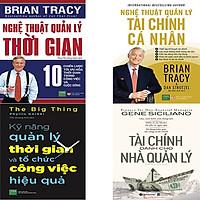 Combo 4 Cuốn Sách:  Tài Chính Dành Cho Nhà Quản Lý + Nghệ Thuật Quản Lý Tài Chính Cá Nhân + Nghệ Thuật Quản Lý Thời Gian + Kỹ Năng Quản Lý Thời Gian Và Tổ Chức Công Việc Hiệu Quả
