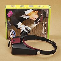 Kính lúp đeo trán có đèn hỗ trợ sửa trữa V1