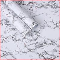 Giấy dán tường vân đá hoa cương có keo sẵn khổ rộng 45cm, giấy decal dán tường đá hoa cương sang trọng -