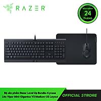 Bộ Bàn phím Razer Level Up Bundle (Cynosa Lite + Viper Mini + Gigantus V2 Medium) (RZ85-02741200-B3M1) - Hàng Chính Hãng