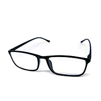 Mắt kính thời trang chống bụi gọng nhựa dẻo chữ nhật K8878 unisex nam nữ style giả cận, phong cách tri thức, lịch sự