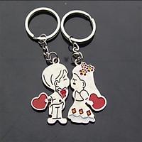 Móc Khóa Cặp Nam Nữ LOVE - Keychain Keyring Gift - New4all MK03