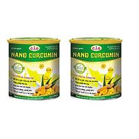 Thực phẩm chức năng sữa nghệ nano curcumin enlan gold 2 hộp thiêc 800gr