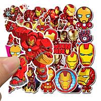Sticker 35 miếng hình dán Người Sắt - hàng nhập khẩu