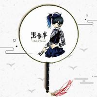 Quạt tròn cổ trang Hắc Quản Gia Kuroshitsuji - Furyu Black Butler: Ciel Phanto anime cầm tay