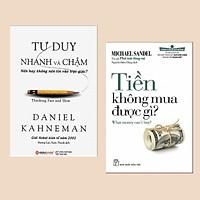 Combo Sách Về Tư Duy: Cánh Cửa Mở Rộng - Tiền Không Mua Được Gì (Tái Bản) + Tư Duy Nhanh Và Chậm (Tái Bản 2019) - ( Cuốn sách bổ ích cho tất cả mọi người)