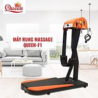 Máy Rung Massage Đứng Queen -F1 500W - Máy Massage Đánh Tan Mỡ bụng Đứng