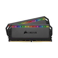 Ram PC Corsair Dominator Platinum RGB DDR4 KIT 16GB (2x8GB) Bus 3200Mhz C16 (CMT16GX4M2C3200C16) - Hàng Chính Hãng