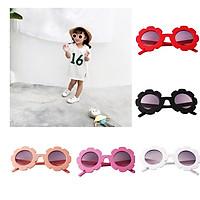 5x Kids Preschool Vintage Flower Sunglasses UV400 Holiday for Girls Boys