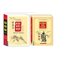 Combo Khổng Học Đăng Trọn Bộ (Theo Bản In Của Khai Trí 1973)+Hậu Hắc Học toàn tập - Mặt dày tâm đen (bìa mềm)