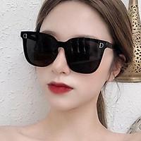Kính Râm Mắt Mèo Kiểu Hàn Quốc Chống Tia UV Cho Nữ