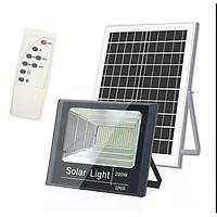 Đèn LED Năng Lượng Mặt Trời 200W - Đèn Pha Led Có Điều Khiển Từ Xa - tiết kiệm điện năng và bảo vệ môi trường sống