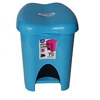 Thùng rác đạp chân 7L Cao Cấp Nhựa PP (Màu ngẫu nhiên)