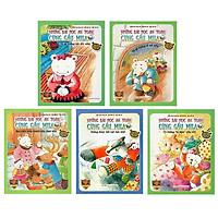 Bộ Sách Những Bài Học An Toàn Cùng Gấu Mila - Giáo Dục Hành Vi Tốt Cho Trẻ (Bộ 5 Cuốn)