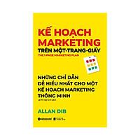 Kế Hoạch Marketing Trên Một - Trang - Giấy