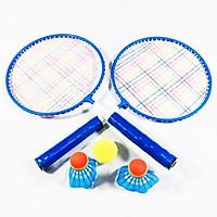 Bộ vợt cầu lông tặng kèm cầu và bóng cho bégng
