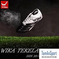 Giày bóng đá Wika Tekela ôm chân siêu bền, đinh TF khâu full đế, giày đá banh giày sân cỏ nhân tạo ( tặng tất)