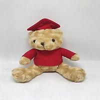Gấu Tốt Nghiệp Vest Đỏ-MNV-QTN42/1
