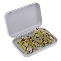 20pcs Colorful Fly Fishing Hook Baits Lures Lifelike Butterfly Flies