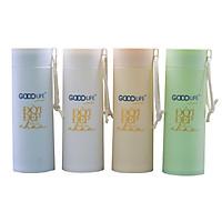 [HB Gift] Bình đựng nước thủy tinh bọc nhựa cao cấp Goodlife (400ml)