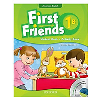 First Friends 1B Student Book + Activity Book (Student Audio CD With Songs, Stories and Everyday English) (American English Edition)