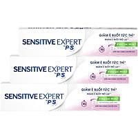 Combo 3 Kem Đánh Răng P/S Sensitive Expert Giảm Ê Buốt Thơm Mát (100g/tuýp)