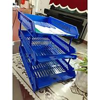 Khay 3 tầng trụ nhựa Xukiva 182-3
