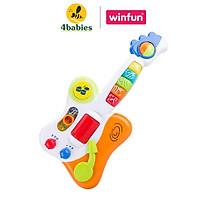 Đàn đồ chơi cho bé guitar Rock& Roll Winfun 2000 vui nhộn - giúp phát triển khả năng cảm thụ âm nhạc cho bé - tặng đồ chơi tắm